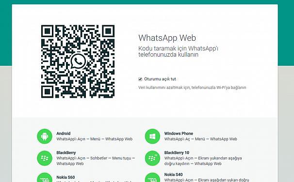 WhatsApp Web'e yeni güncellemeler geliyor