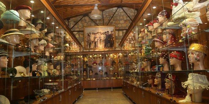 Kastamonu'daki şapka müzesine ziyaretçi akını