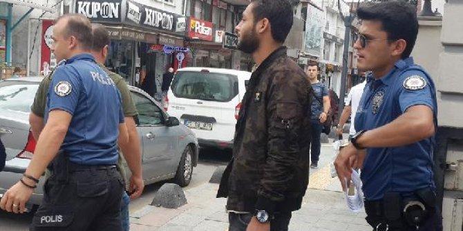 Suriyeli hırsız polisten kaçamadı!