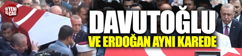 Davutoğlu ve Erdoğan bir araya geldi