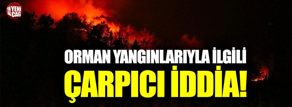 Mahmut Tanal'dan Orman yangınlarıyla ilgili çarpıcı iddia