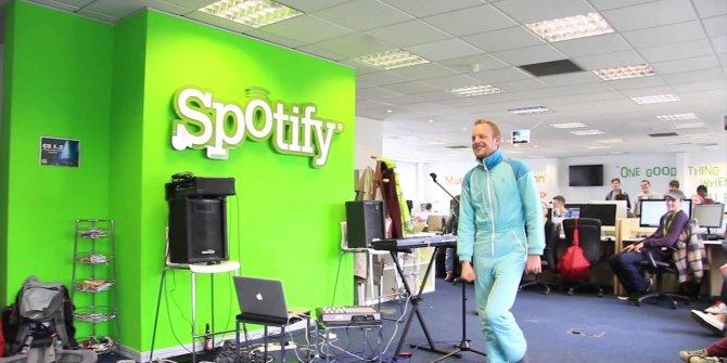 Spotify'ın hikayesi dizi oluyor