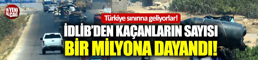 Yüz binlerce Suriyeli Türkiye sınırına ilerliyor!