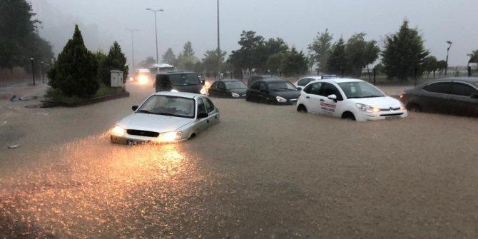 Zonguldak yağmura teslim