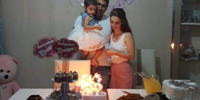 9 gün sonra kızının doğum gününü kutlayacaktı...