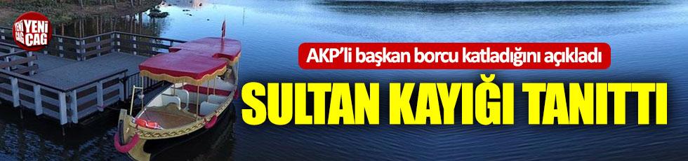AKP'li belediye başkanı 'Borcu katladık' dedi, sultan kayığı tanıttı!