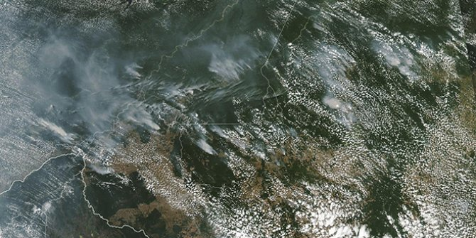 Amazon Ormanları bir haftadır yanıyor!