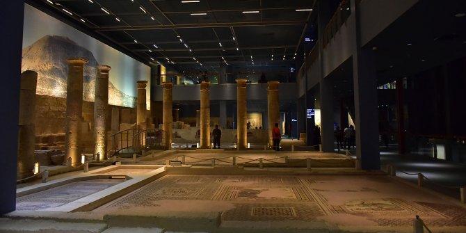 Zeugma Mozaik Müzesi'ne, ziyaretçi akını