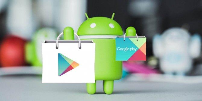 Google Play Store yeni tasarımına kavuştu