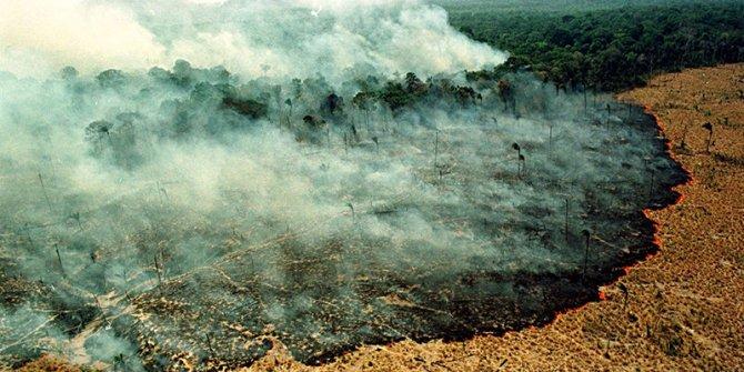 """""""Amazonlar'daki yangınla mücadele gücümüz yok"""""""
