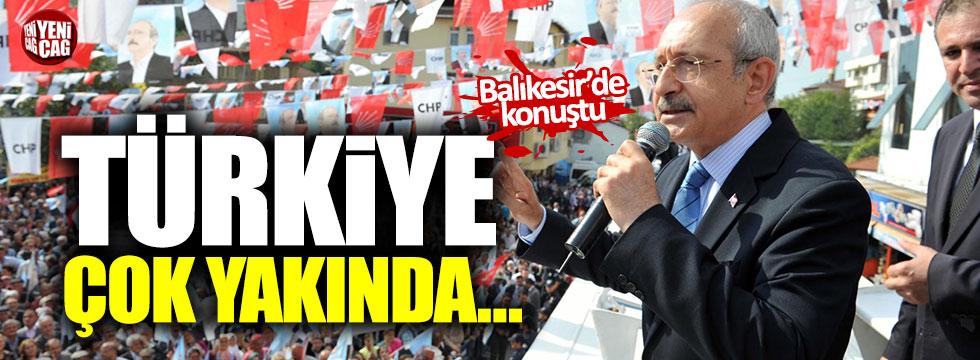 Kılıçdaroğlu Balıkesir'de konuştu