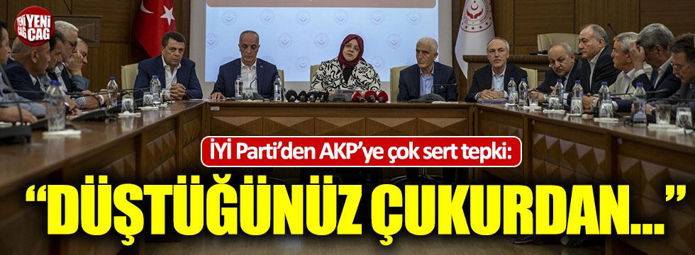 İYİ Parti'den toplu sözleşme görüşmelerine sert tepki