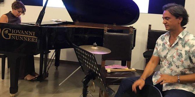 Perküsyon sanatçısı Dinçer Özer İtalya'da