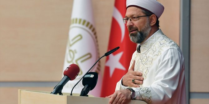 Diyanet İşleri Başkanı Erbaş'tan Emine Bulut açıklaması