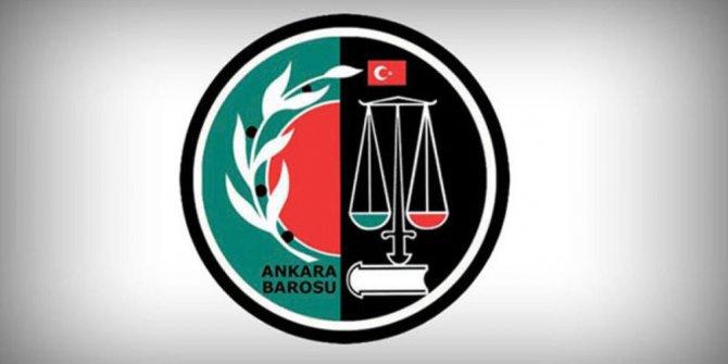 Ankara Barosu'ndan kadına yönelik şiddet çağrısı