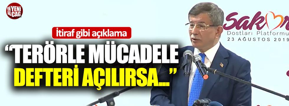 "Davutoğlu, ""Kimse bana hain diyemez"""