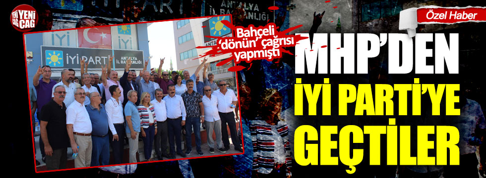 Antalya'da İYİ Parti'ye katılım