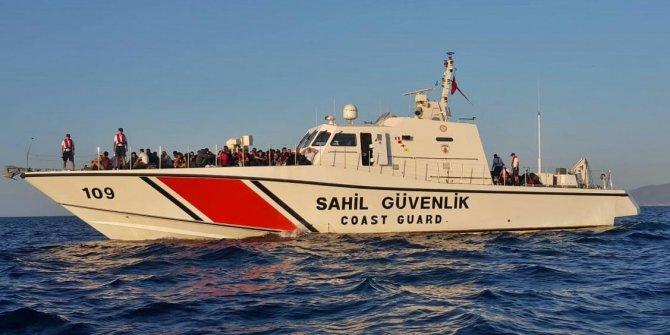Dikili'de 170 kaçak göçmen yakalandı