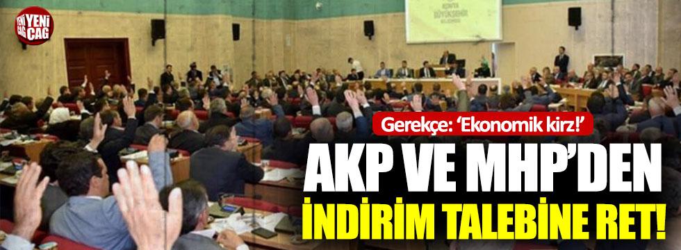 Konya'da su ve ulaşıma indirime ret: Gerekçe, ülke ekonomisinin durumu!