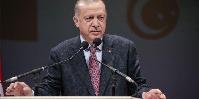"""Erdoğan: """"Kimse, kendi hırsı için memleketin geleceğini ateşe atamaz"""""""