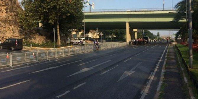 Vatan Caddesi prova için ulaşıma kapatıldı