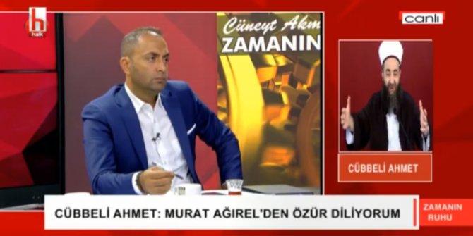 Cübbeli Ahmet Hoca, Murat Ağırel'den özür diledi