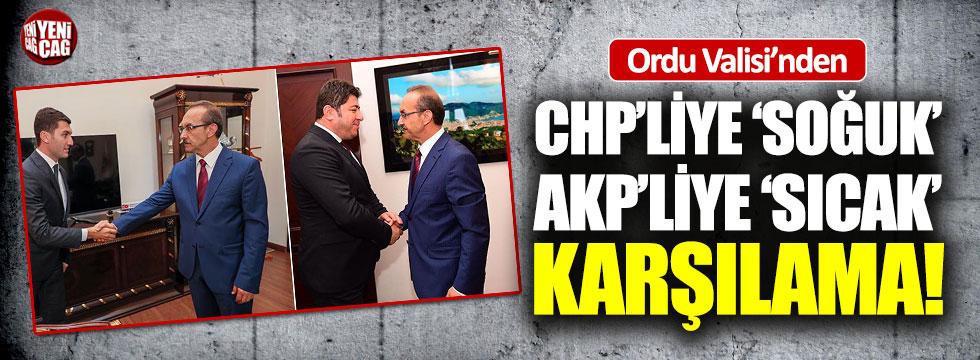 CHP'liye 'soğuk' AKP'liye 'sıcak' karşılama
