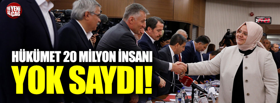 "İYİ Partili Koncuk: ""AKP 20 milyon insanı yok saydı"""