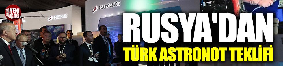 Rusya'dan Türk astronot teklifi