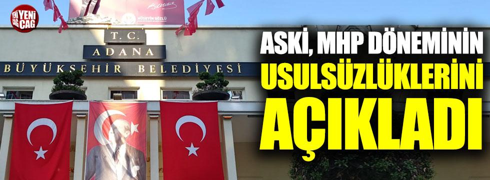 Adana'da MHP döneminin israf faturası açıklandı