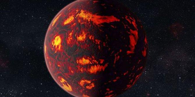 Tamamen lavlarla kaplı bir gezegen uydusu keşfedildi