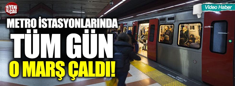 """Ankara metrosundan """"Ankara'nın taşına bak"""""""