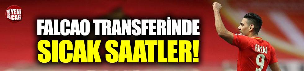 Falcao Galatasaray'a gelecek mi?