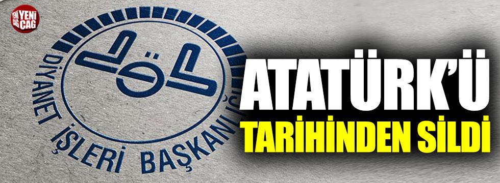 Diyanet'ten bir Atatürk skandalı daha!