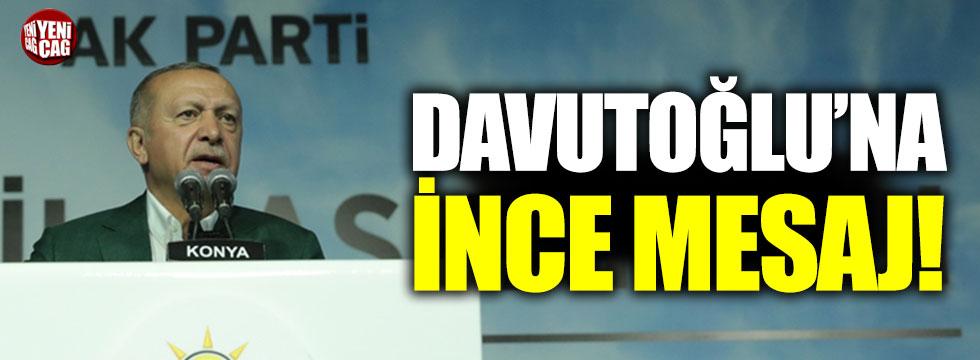 Erdoğan'dan Davutoğlu'na ihraç sinyali