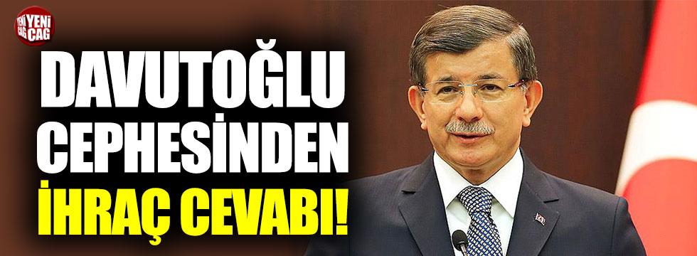 Davutoğlu cephesinden Erdoğan'a cevap