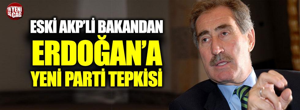 Günay'dan Erdoğan'a yeni parti yanıtı