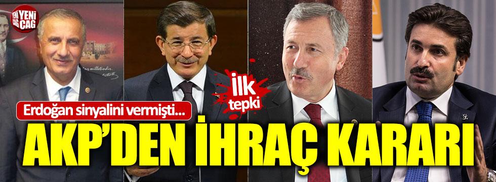 Davutoğlu AKP'den ihraç ediliyor