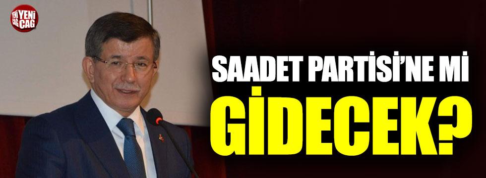 Davutoğlu için Saadet Partisi iddiası!
