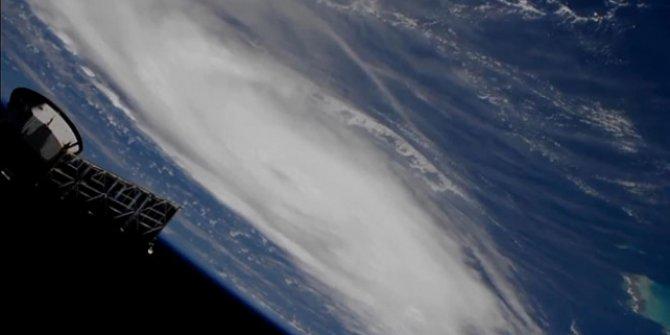 NASA, Dorian Kasırgası'nın görüntülerini yayınladı