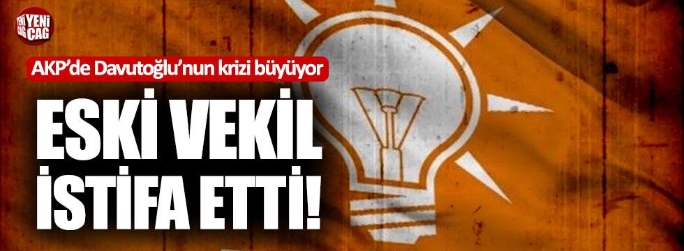 AKP'de Davutoğlu krizi büyüyor: Eski vekilden tepki istifası