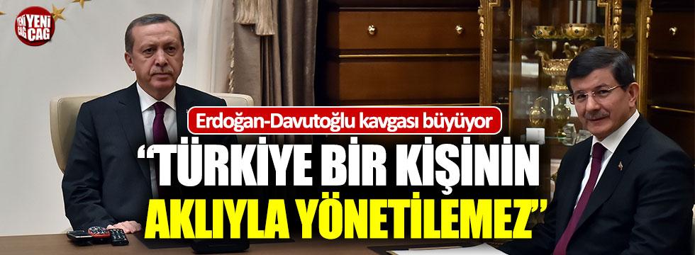 AKP'de Davutoğlu-Erdoğan kavgası büyüyor!