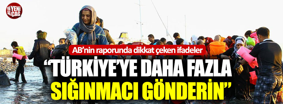 """AB'den Yunansitan'a: """"Türkiye'ye daha fazla sığınmacı gönderin"""""""