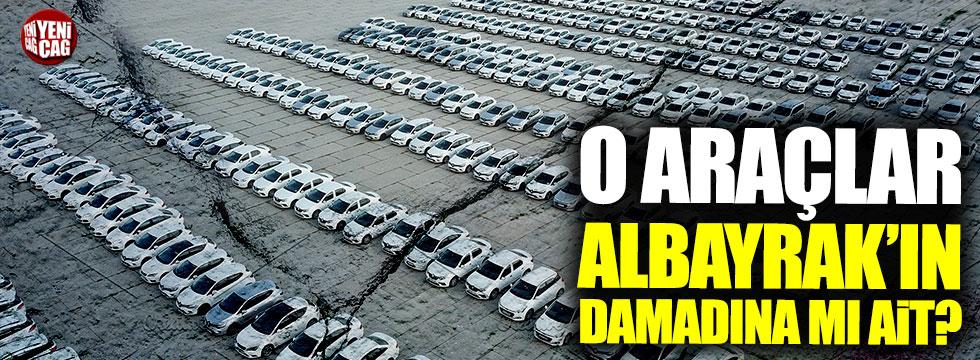 Yenikapı'daki araçlar Nuri Albayrak'ın damadının mı?