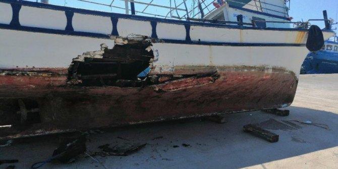 Tekne kazasında 10 kişi ölümden döndü!