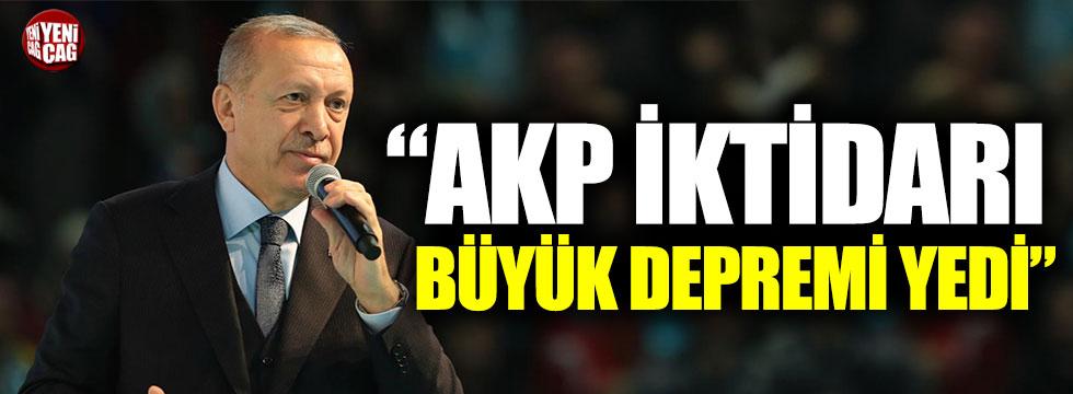 """""""AKP iktidarı 7.8 büyüklüğünde büyük depremi yedi"""""""