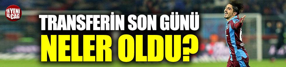 Trabzonspor'da transferin son günü neler oldu?