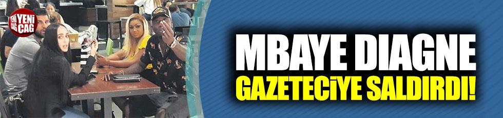 Mbaye Diagne'den gazeteciye saldırı