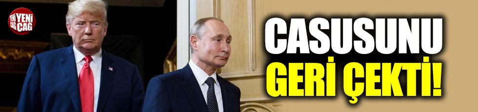 ABD, 2017'de Rus hükümetindeki casusunu geri çekti