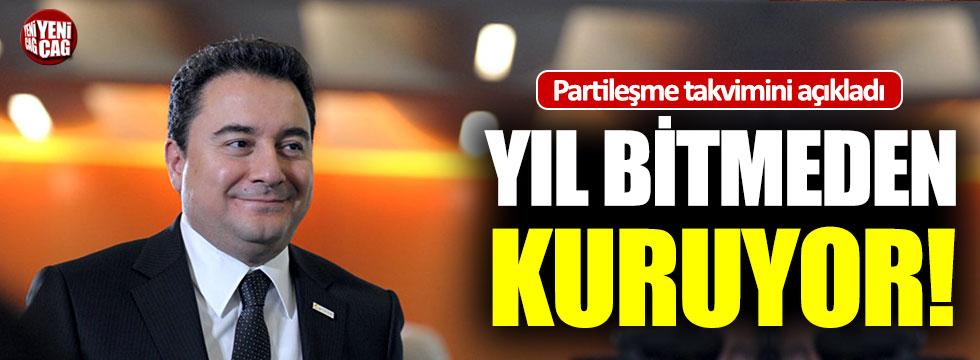 """Ali Babacan: """"2020'ye kalmadan partiyi kuracağız"""""""